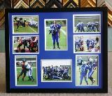 Sports memorabilia, team pictures, Sport Awards, framed sports items