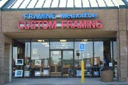 Custom Framing in Plano TX at Framing MemorEze